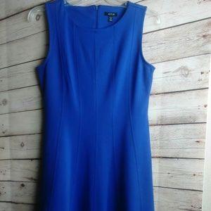 APT 9 Size Petite Medium HOST PICK Blue Dress